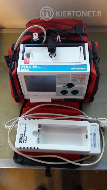 Defibrillaattori Zoll M-Series, nro 1.