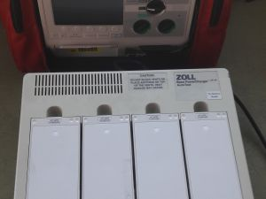 Defibrillaattori Zoll M-Series, nro 2.
