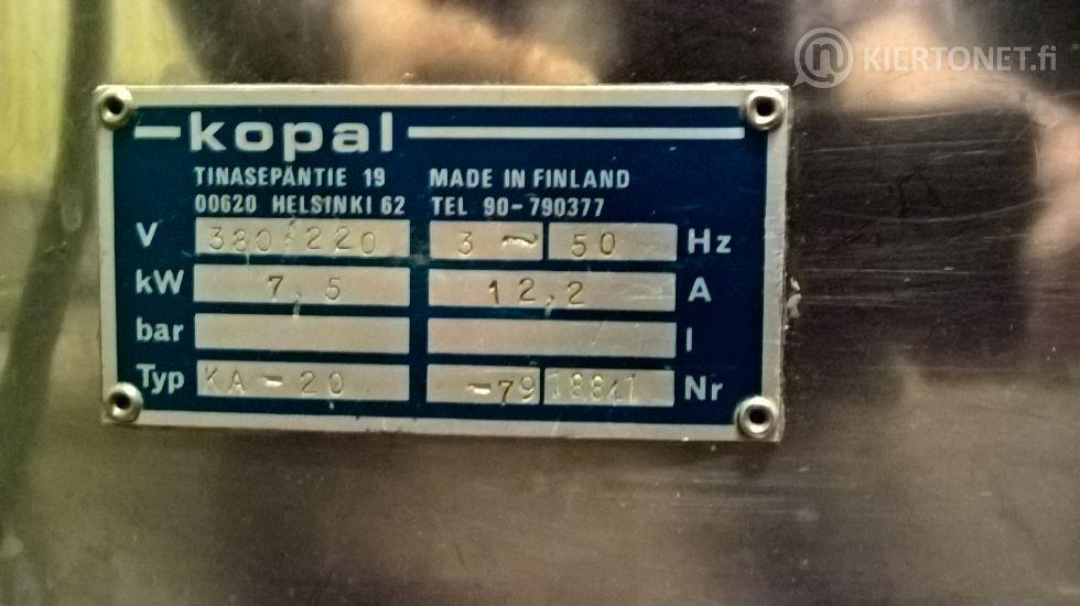 Kahvinkeitin Kopal KA- 20