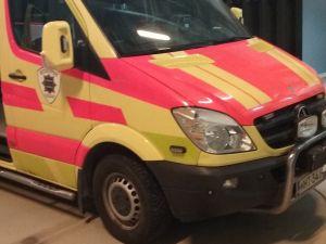 MB Sprinter 319 CDI ambulanssi, ajettu vain 178 tkm