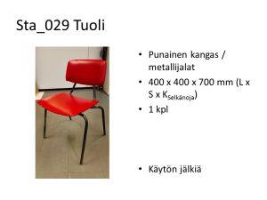 Punainen tuoli