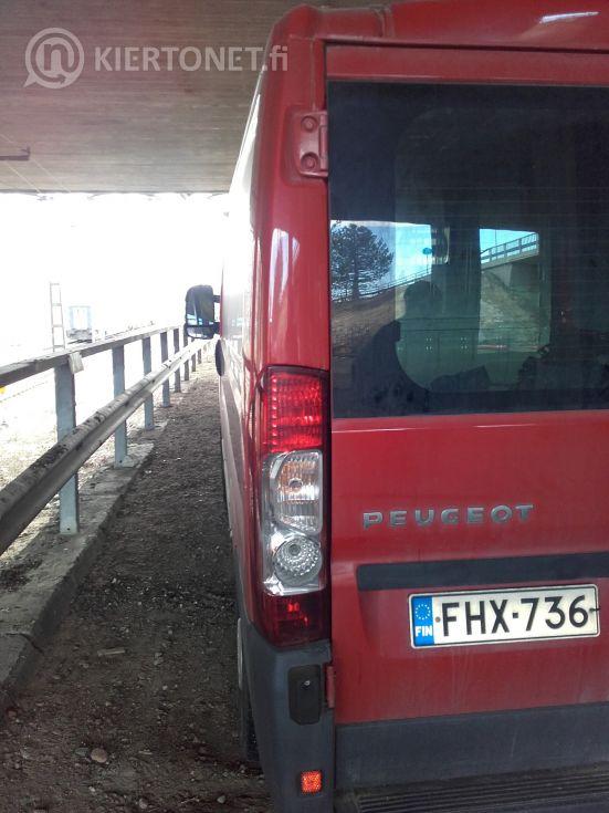 Umpipakettiauto romu Peugeot Boxer Moottori rikki