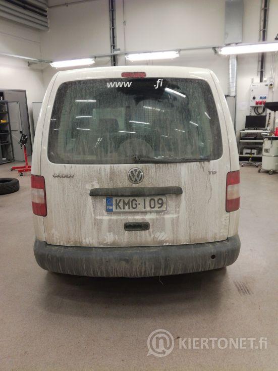 Kunnostettavaksi, tai varaosiksi VW Caddy 1,9TDI