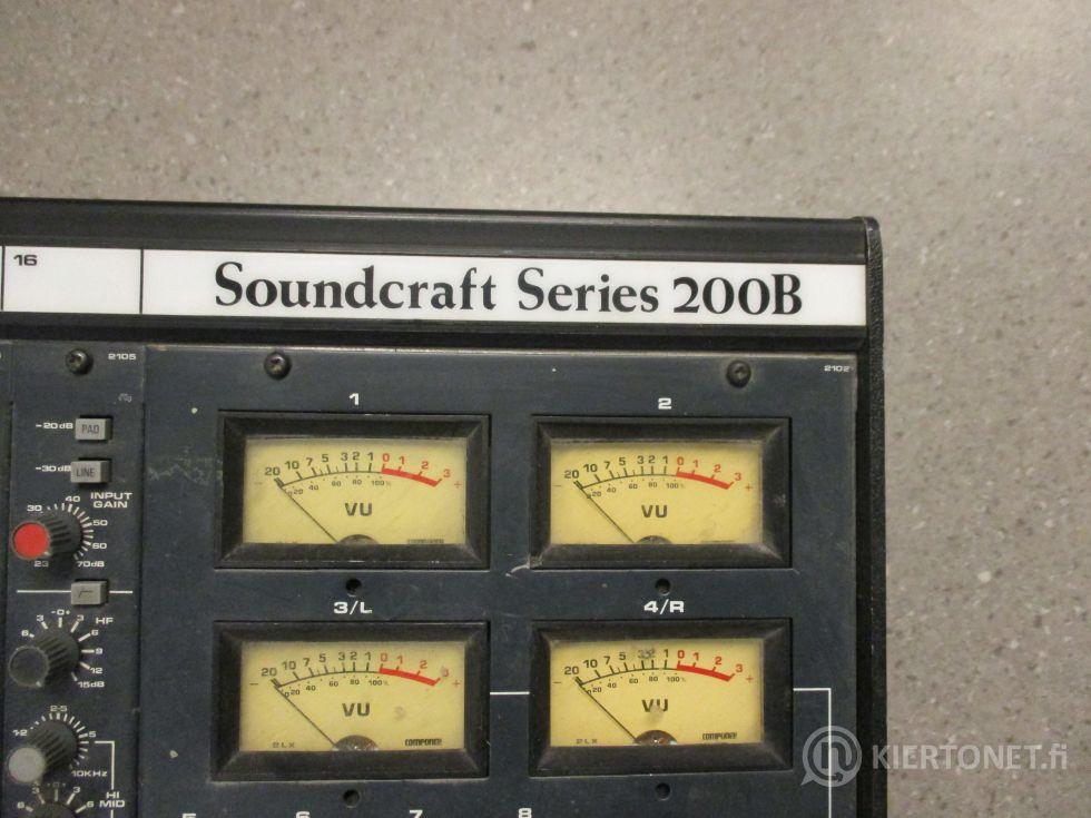 Soundcraft 200B Series mikseri