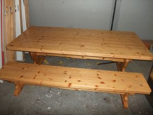 Lasten pöytä+penkit