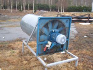 Kylmäilmapuhallin 7,5 kW