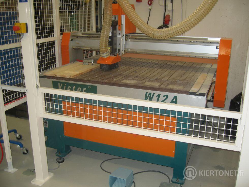 CNC-jyrsin Victor VW12A - työstömateriaalit mm. puu ja alumiini