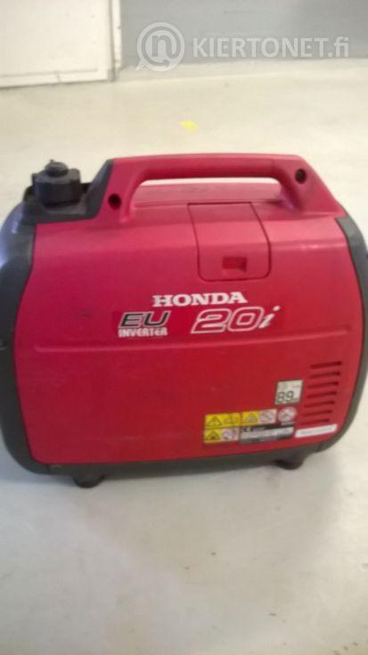 Myydään Honda 20i kannettava 1,6 KW generaattori .