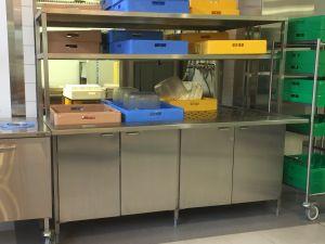 Pesulinjaston etuosa, lajittelu, RST