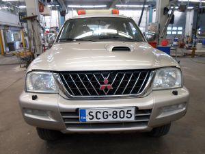 Mitsubishi L200 2,5 TD 4WD Double Cab