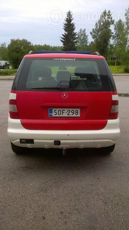 Mercedes-Benz 270 CDI maasturi 4x4