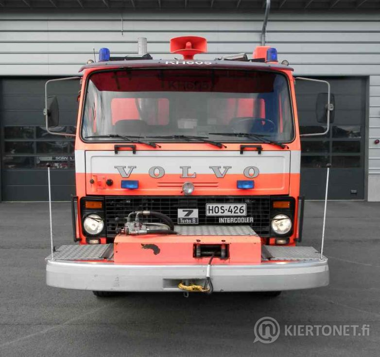 Volvo F720 raivausauto