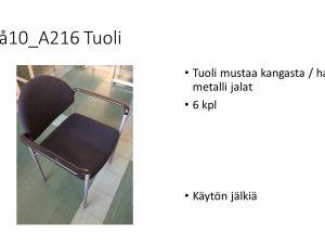 Tuoli (6 kpl)