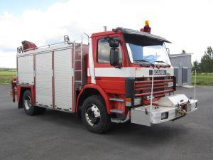 Pelastusauto Scania 93 M