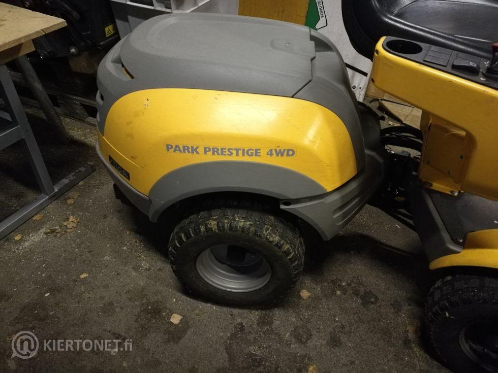 Myydään ajettava ruohonleikkuri Stiga Park Prestige  4WD