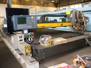ESAB CNC -plasma-/kaasuleikkausjärjestelmä