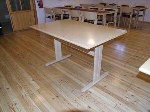 Koivuviilu pöytä 125x80  3 kpl