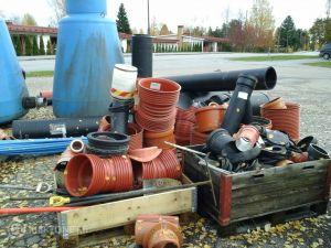 Käytöstä poistettua vesihuoltomateriaalia, erä 2