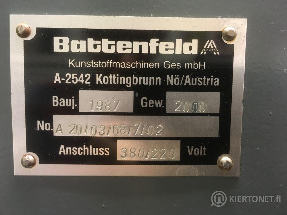 Battenfeld BA 200 CD, ruiskuvalukone