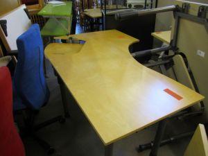 Toimistopöytä 2-osainen 1