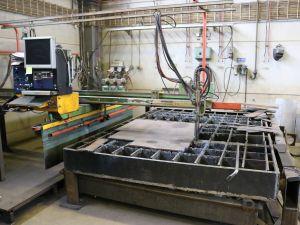CNC polttoleikkauskone
