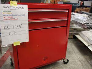 Työkalulaatikosto punainen (KN146)