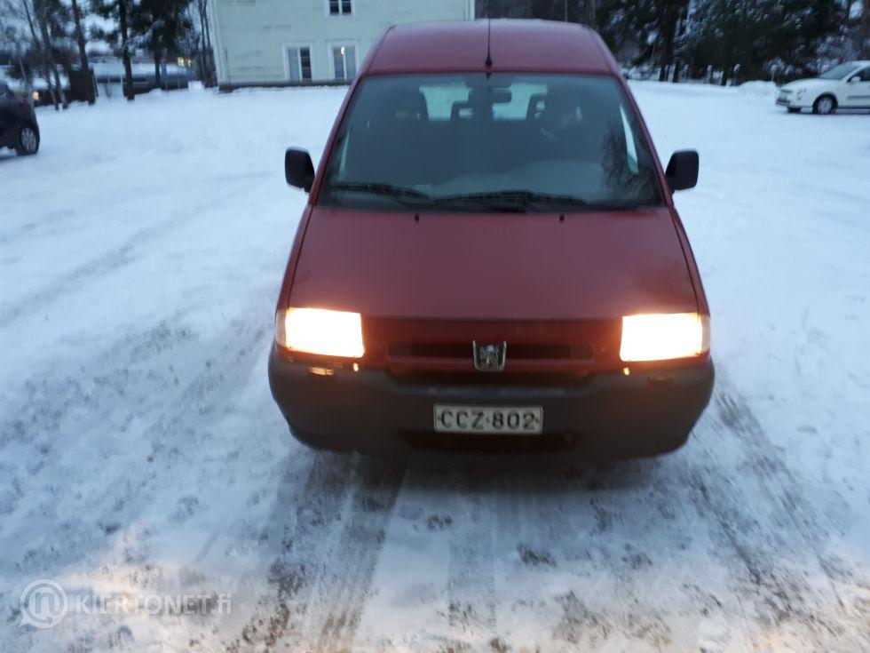 Myydään Peugeot pakettiauto