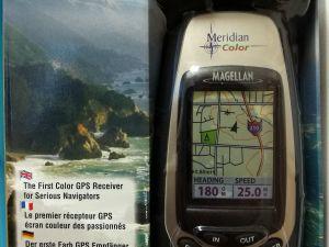 Magellan GPS Meridian Color