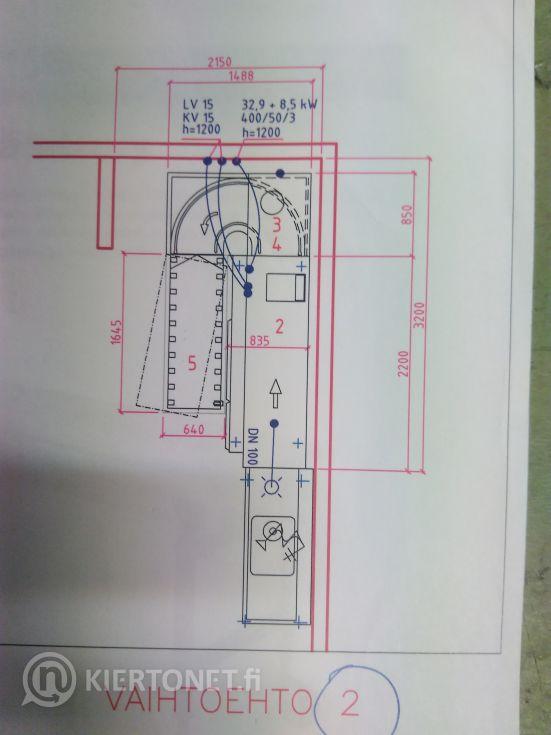 Electrolux WTM 180 ERA tunneliastianpesukone