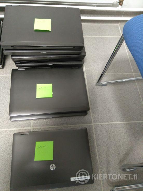 Kannettavia HP-tietokoneita 10 kpl