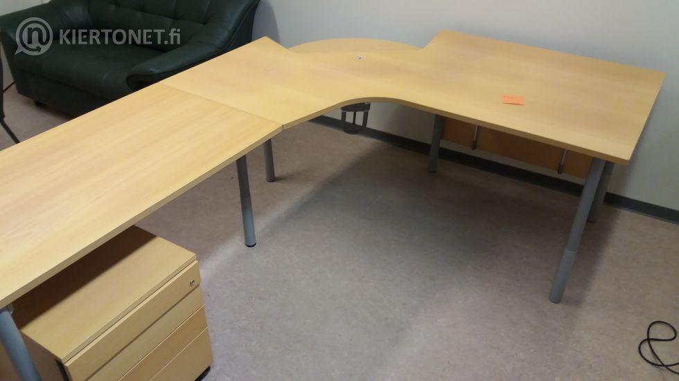 Työpöytä + vetolaatikosto