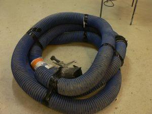 Kaasukelanletku, pituus 11m ja halkaisija 150mm