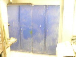 Peltikaappi sininen