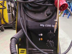 ESAB C250 3ph MIG