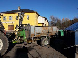 Traktorin peräkärry FARMA CT 6,3-9