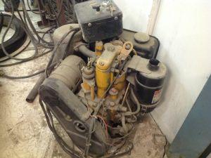 Hatz-merkkinen dieselmoottori