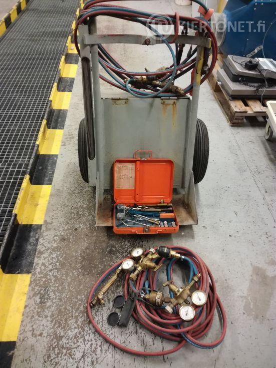 Kaasuhitsauskärryt ja laitteet
