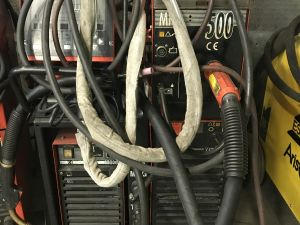 Kemppi Pro MIG500, Pro TIG410, cool 10 MIG/MAG, puikko, TIG - laitteisto (KN707)