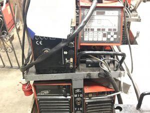 Kemppi Pro MIG500, Pro TIG410, cool 10 MIG/MAG, puikko, TIG - laitteisto (KN711)