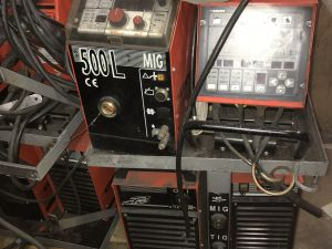 Kemppi Pro MIG500, Pro TIG410, cool 10 MIG/MAG, puikko, TIG - laitteisto (KN712)