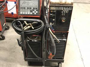 Kemppi Pro MIG500, Pro TIG410, cool 10 MIG/MAG, puikko, TIG - laitteisto KN716)