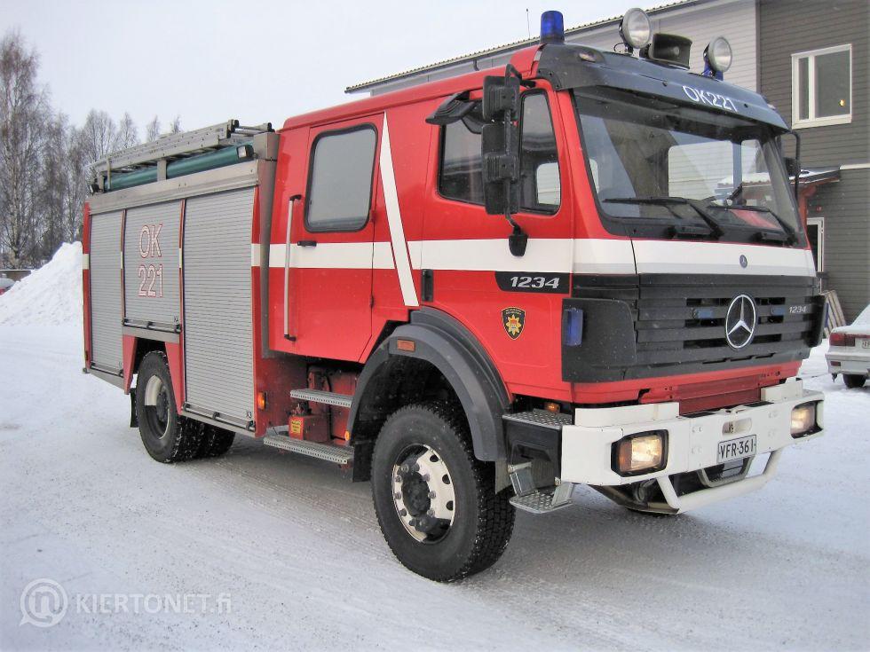 Mercedes-Benz 1234 AF-16T-JAV-4X4 sammutusauto