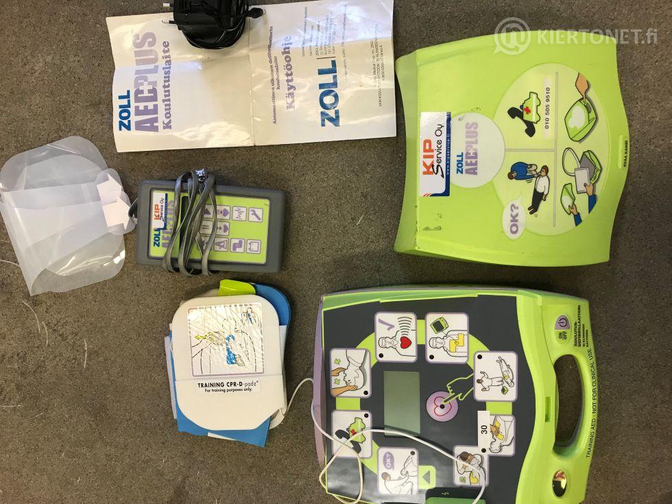 Zoll AED plus trainer harjoitusdefibrillaattori (1)