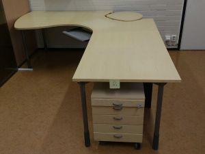 Iskun toimistopöytä (2)