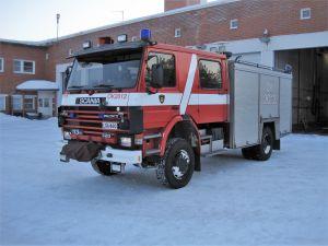 Scania P113 H 4x4 sammutusauto