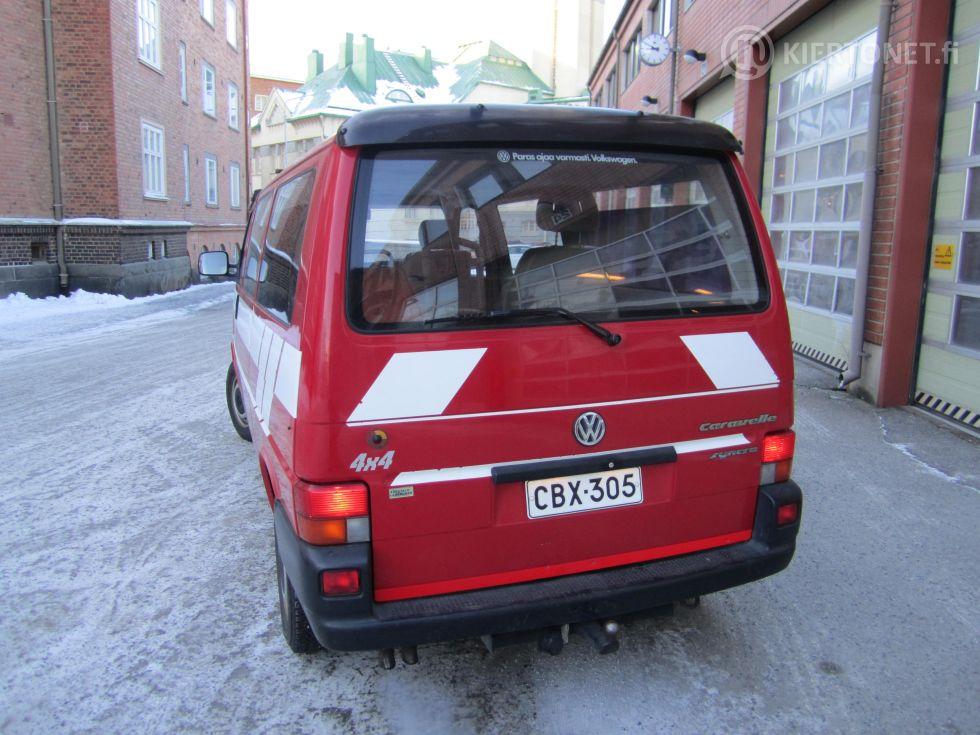 VW Caravelle Syncro 2,4L 4X4 -96 - vain 47 470 km ajettu