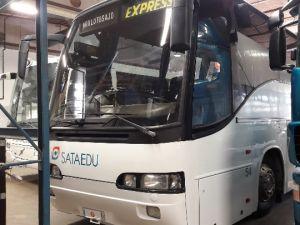 Linja-auto Scania K124 EB-1-6*2 - vm. 1998 ajettu 1 313 482 km