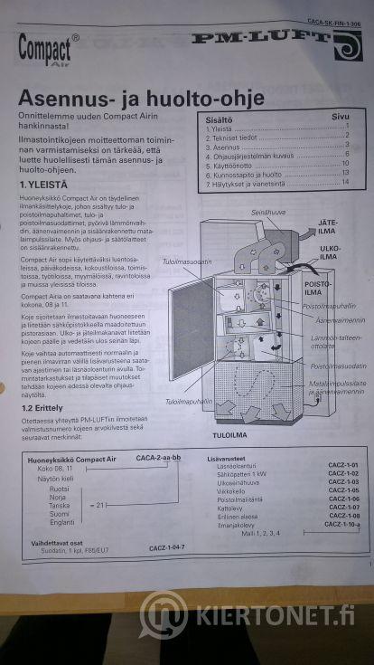 IV-kone Compact Air nro 1.