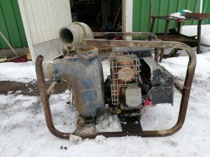 Gorman Group 3:n tuuman polttomoottoripumppu