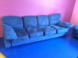 Sohva, sininen